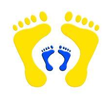 footprints by jymartin