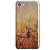 Stag deer iPhone Case/Skin