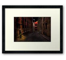 A life on the street Framed Print