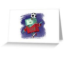 BMO Soccer Greeting Card