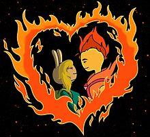 Burning Love by AdrianaC