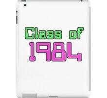 Class of 1984 iPad Case/Skin