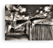 Mack  B model in Black and White Canvas Print