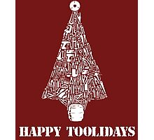 Amazing Hundreds of Tools Happy Toolidays Tool Tree T-Shirts and Gifts Photographic Print