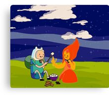 Smore's Date Canvas Print