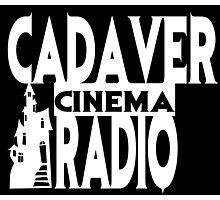 Cadaver Cinema Logo Photographic Print