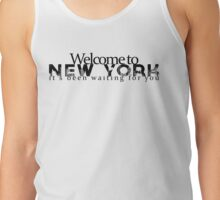 welcome to new york -1989 Tank Top