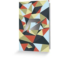 Need for speed polygon Greeting Card