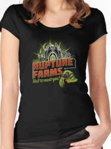 Greetings From Rupture Farms Women's Fitted Scoop T-Shirt
