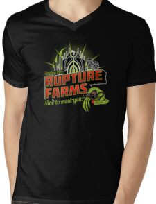 Greetings From Rupture Farms Mens V-Neck T-Shirt