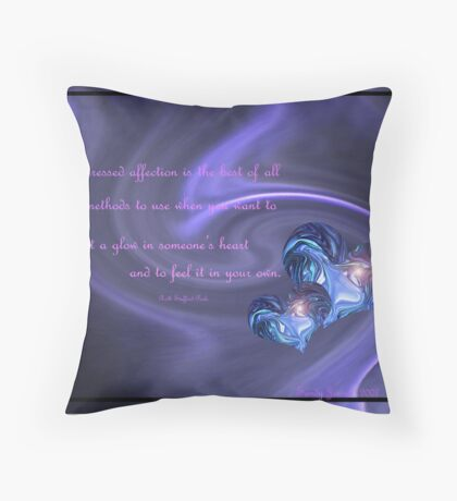 expressed Throw Pillow