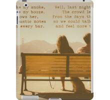 Clove Cigarette iPad Case/Skin