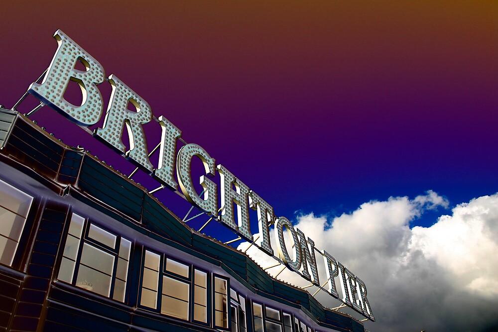Brighton Pier by gematrium