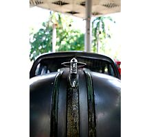 Cuban 50's Muscle Car Figurehead Photographic Print