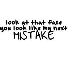 Next mistake Photographic Print