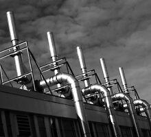 Pulliam Hall Pipes by Daniel Owens