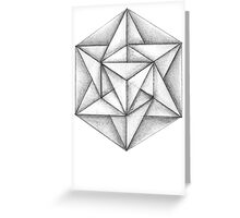 Paper Star 3 Greeting Card