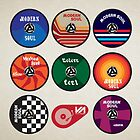Modern Soul 45's by modernistdesign