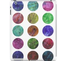 circles and textures iPad Case/Skin