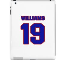 National Hockey player Butch Williams jersey 19 iPad Case/Skin