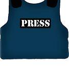 Bulletproof press vest  by sionyboy82
