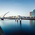 Samuel Beckett Bridge, Dublin, Ireland by Alessio Michelini
