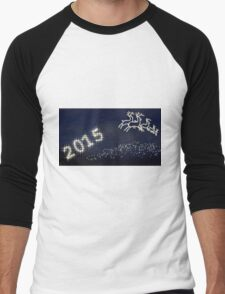 Happy New Year 2015 Men's Baseball ¾ T-Shirt