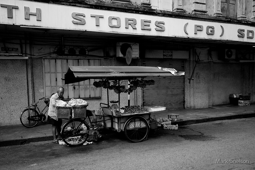 Penang Fruit Stall by Mark Snelson