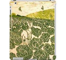 Cabbage Field Hare iPad Case/Skin