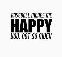 BASEBALL MAKES ME HAPPY Men's Baseball ¾ T-Shirt