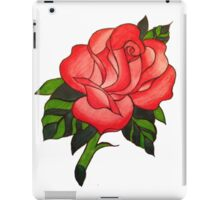 Traitional Tattoo Rose  iPad Case/Skin