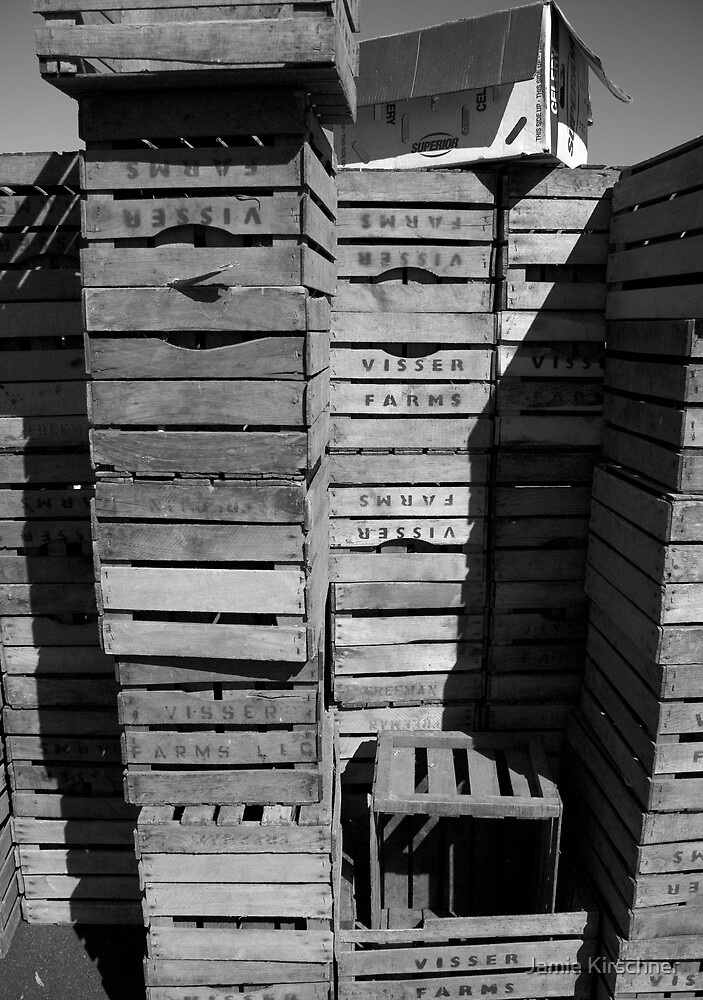 Crates by Jamie Kirschner