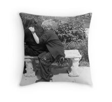 Silent Comfort Throw Pillow