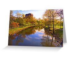 Springtime in Boston Greeting Card