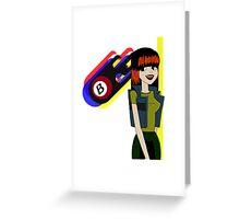 Burners Julie Kane Greeting Card
