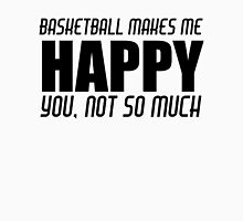 BASKETBALL MAKES ME HAPPY Tank Top