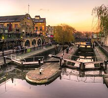 Camden Lock  by Rob Hawkins
