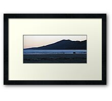Inch  - As the Sun Goes Down  Framed Print