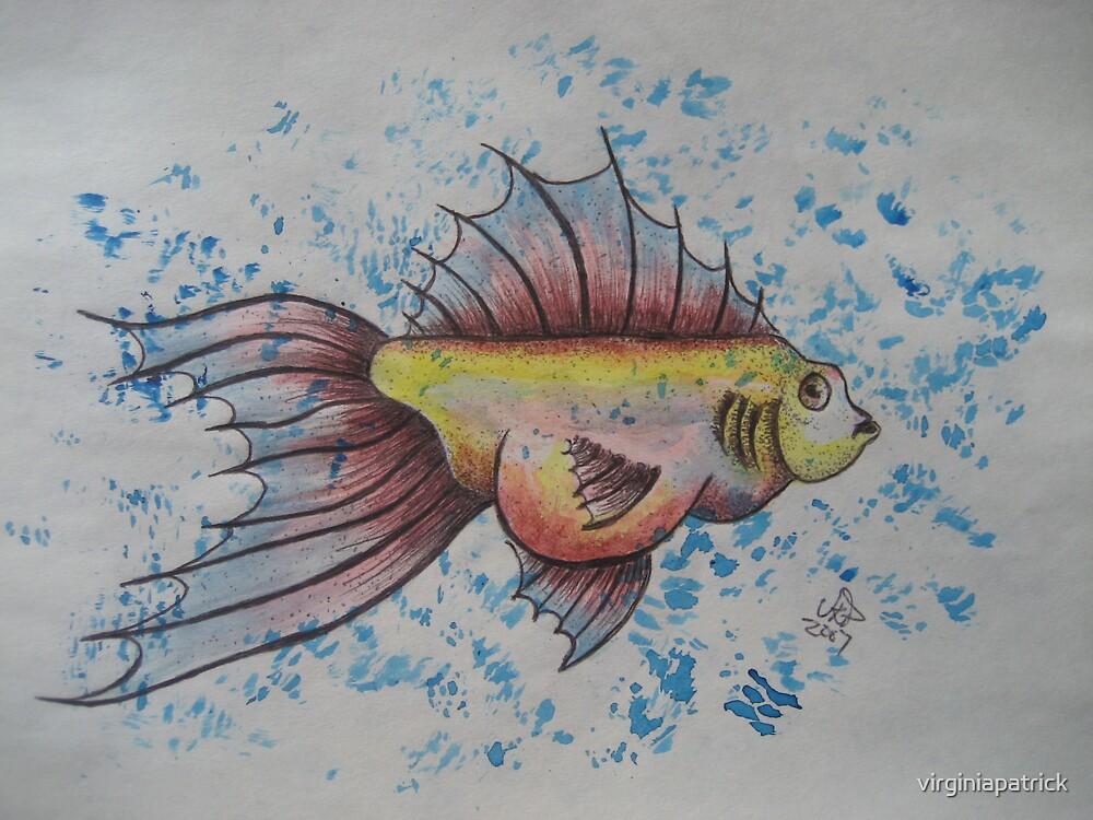 Frisky Fish by virginiapatrick