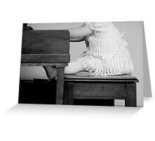 piano works Greeting Card