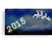 Happy New Year 2015 Canvas Print