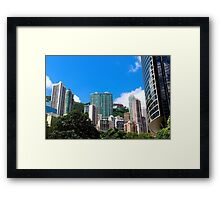 City of Colors IV - Hong Kong. Framed Print