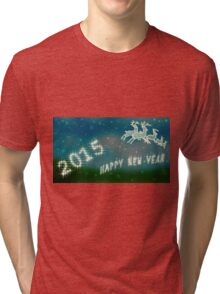 Happy New Year Tri-blend T-Shirt