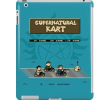 Supernatural Kart iPad Case/Skin