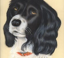 Tess in pastel by Woodie