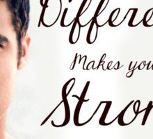 Darren Criss Quote Sticker