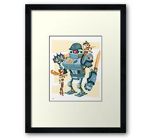 Bot Girls Framed Print