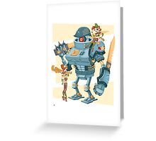 Bot Girls Greeting Card