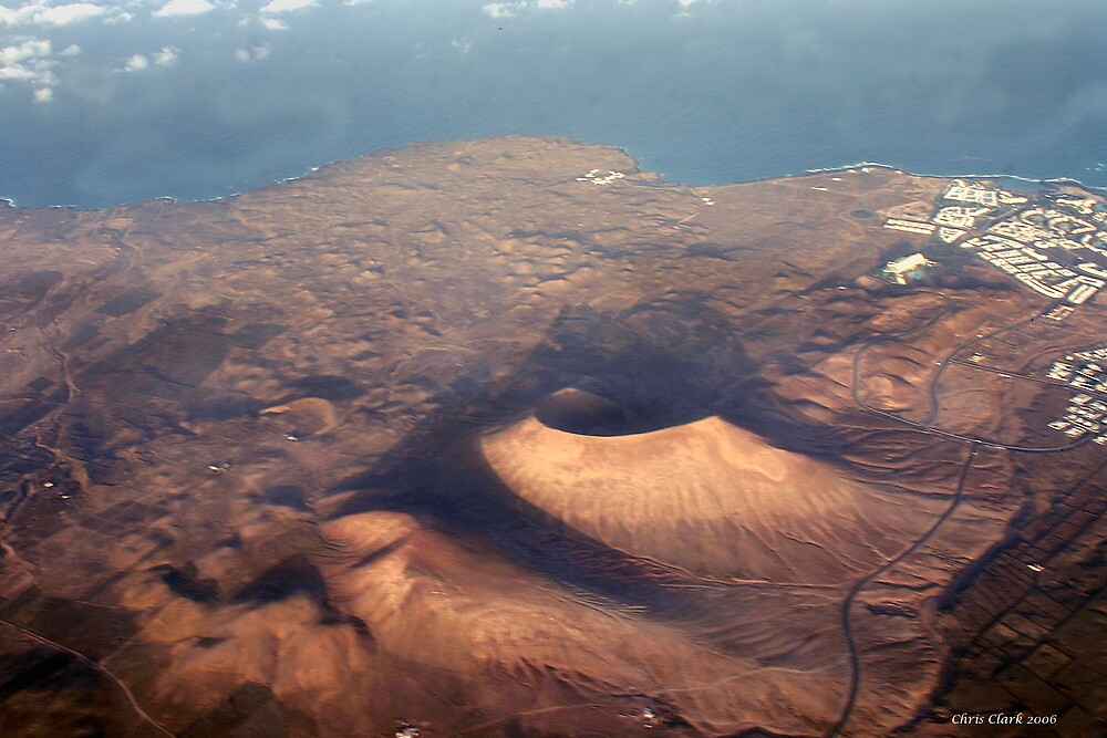 Lanzarote- Land of the Volcanoe by Chris Clark