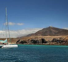 Papagaya Beach Heads - Lanzarote by Chris Clark